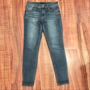 1822 Skinny Ankle Jeans
